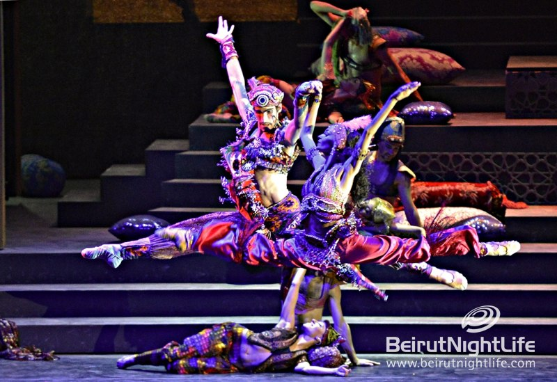 Caracalla 'Once Upon a Time' Dazzle Crowds at Beiteddine