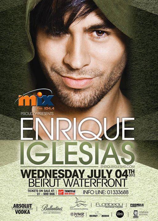 Enrique Iglesias Live In Lebanon