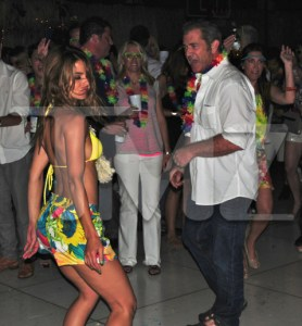 Mel Gibson Parties Wild and Hard!
