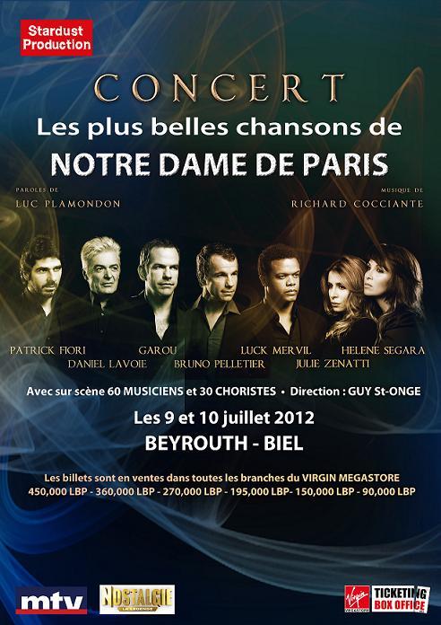 Les Plus Belles Chansons de Notre Dame de Paris