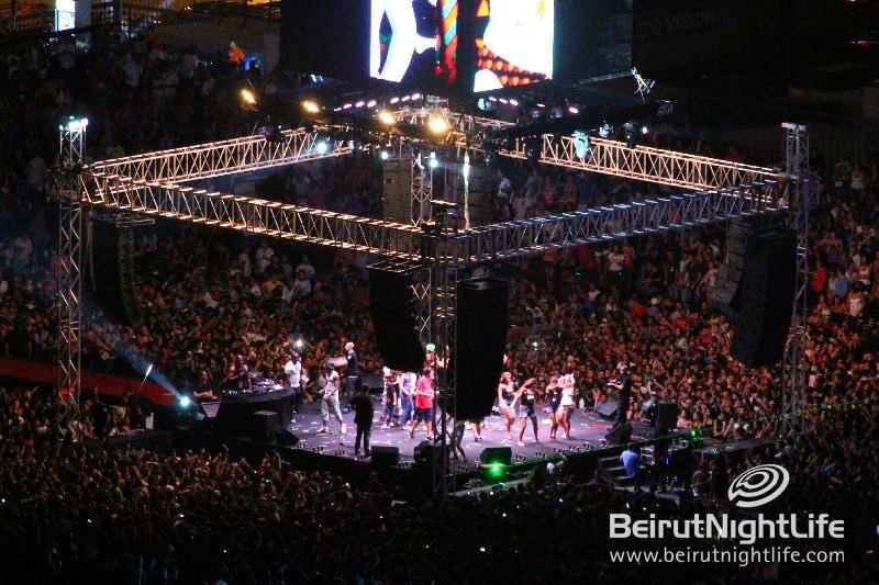 NRJ Music Tour 2012 hits Beirut July 7th!!!