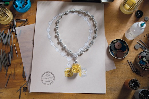 Tiffany Celebrates 175 Years by Resetting its Gorgeous 128.54-carat Diamond