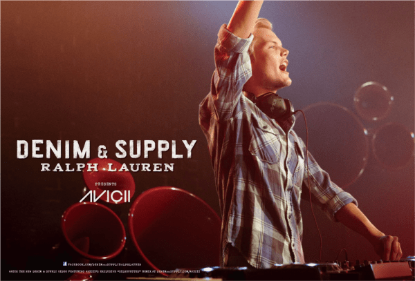 Avicii — The New Face of Ralph Lauren 'Denim & Supply'