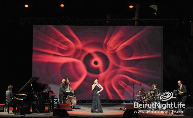 Ute Lemper at Byblos International Festival 2012
