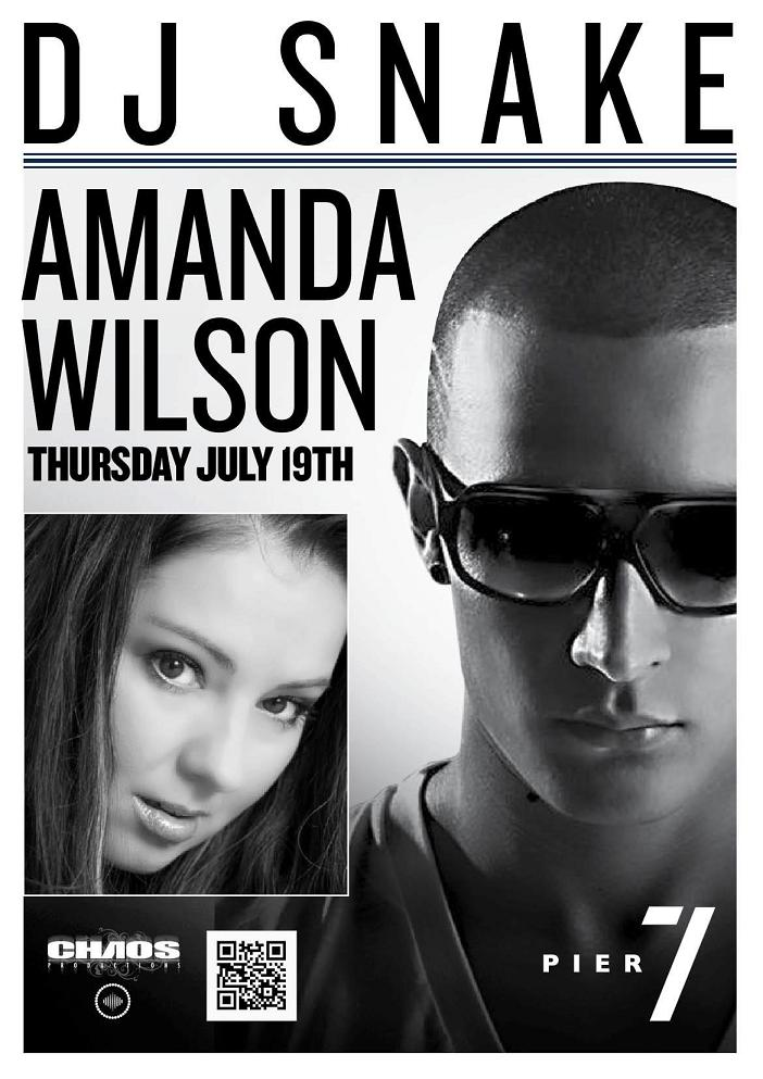 Dj Snake And Amanda Wilson Live At Pier 7