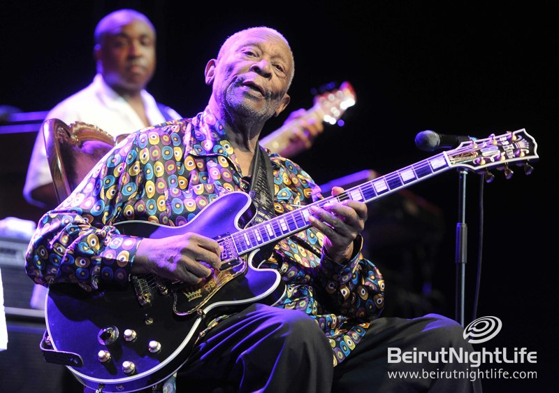"""The King of Blues"" B.B. King Rocks Byblos Festival"