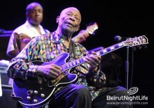 """The King of Blues"" B.B. King Rocks Byblos Festival"