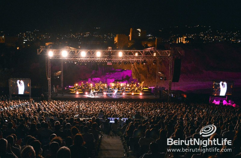 Legendary French Singer Julien Clerc with Special Guests the Lebanese Philharmonic at Byblos