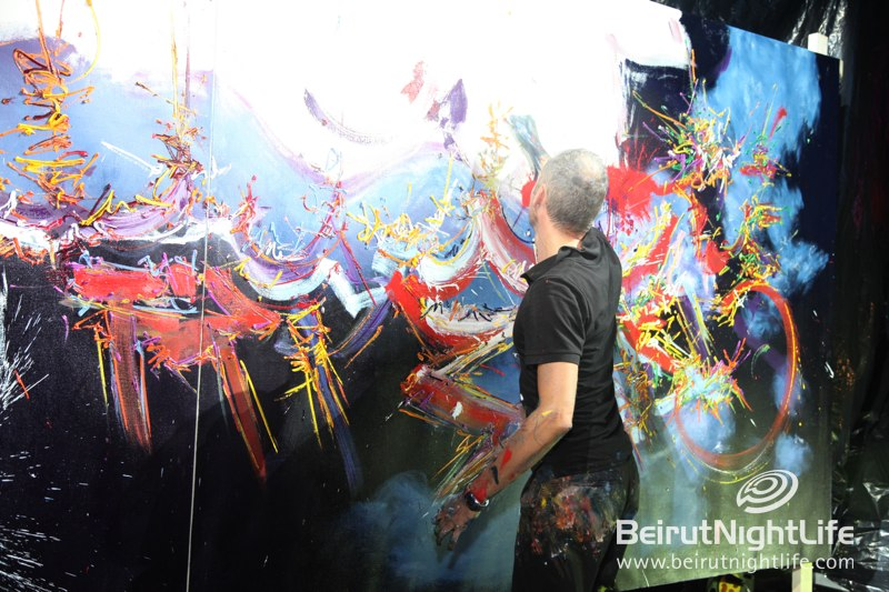 Generis' Live Art Fundraising Gala Dinner at Skybar