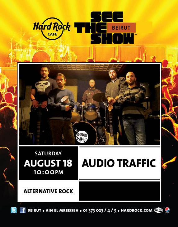 Audio Traffic Band Live At Hard Rock Cafe