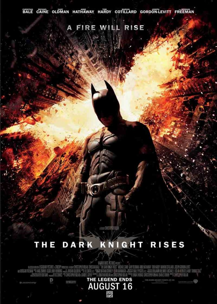Congratulations to the Winners of the Dark Knight Rises Competition!