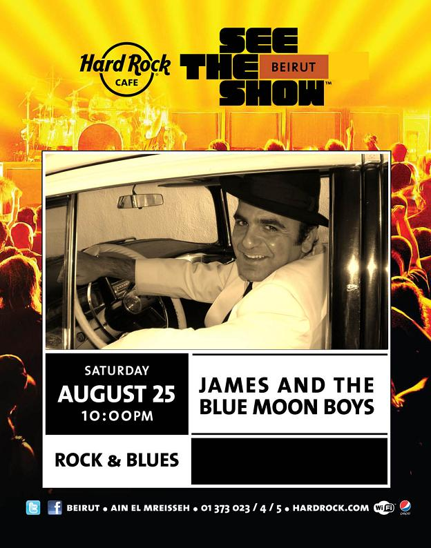 James And The Blue Moon Boys Live At Hard Rock Cafe