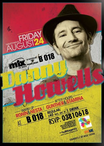 Danny Howells Live At B018