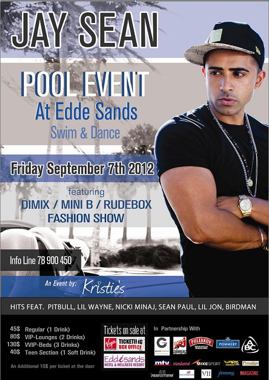 Win Free Tickets to See Jay Sean Live at Eddé Sands!