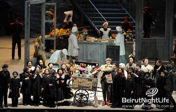 Opera La Boheme Wraps Up the Beiteddine Art Festival