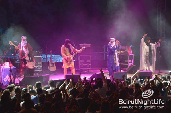 2012 Grammy Award Winners Tinariwen Perform Live at Byblos