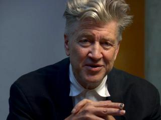 David Lynch pops his cork