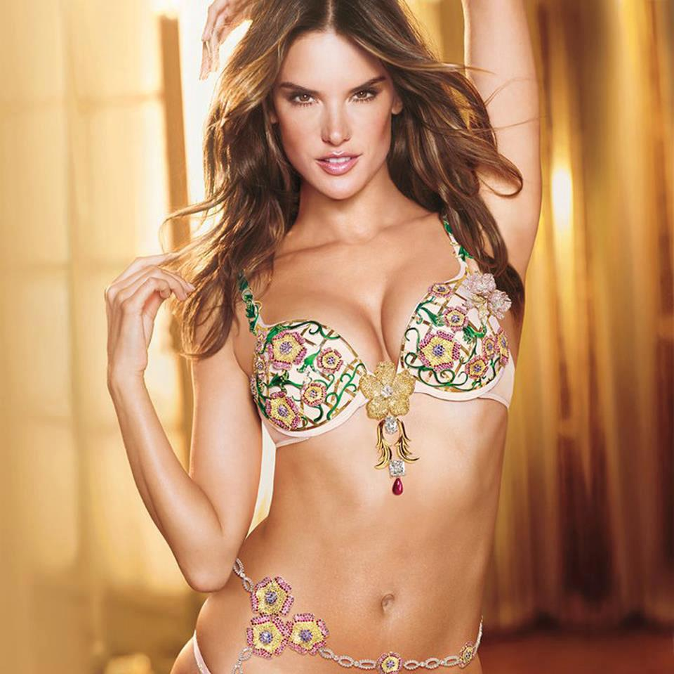 Alessandra Ambrosio Unveils the $2.5 Million Victoria's Secret Fantasy Bra