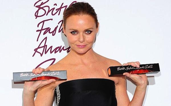 British Fashion Award 2012: The Winners