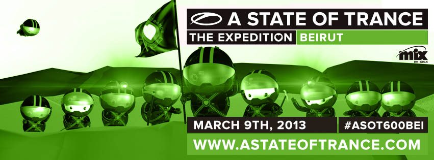 A State Of Trance 600 – Armin Van Buuren In Lebanon