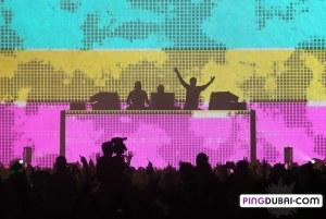 Swedish House Mafia One Last Tour Kicks Off in Dubai
