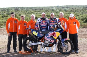 KTM Ready to Race Rallye DAKAR 2013!