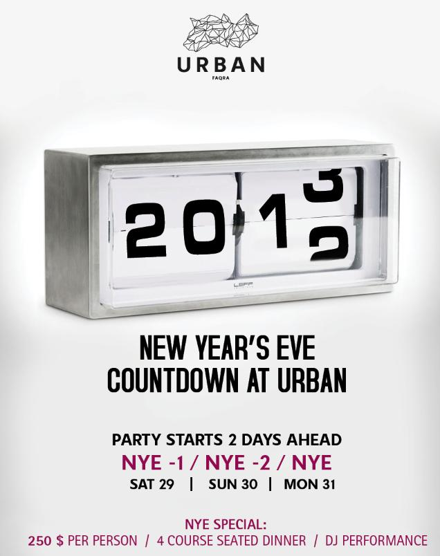 New Year's Eve Countdown At Urban