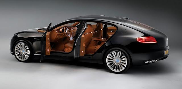 Bugatti to Launch the World's Most Powerful Sedan: 16C Galibier