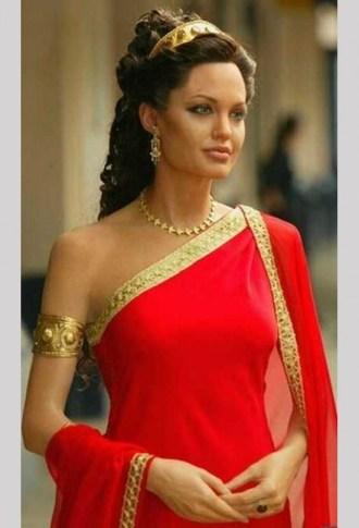 Angelina Jolie Queen Of Egypt Cleopatra Bnl