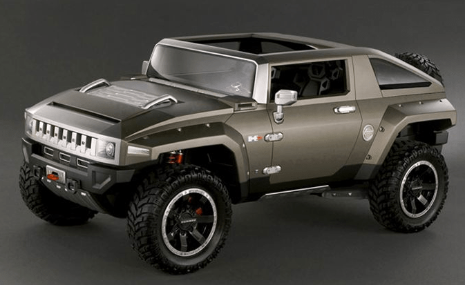 Hummer HX Concept: GM's macho brand loses its top
