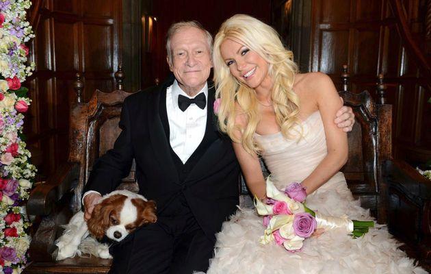 Playboy Hugh Hefner marries his 'runaway bride'