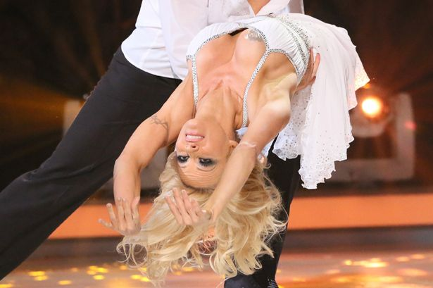 Pamela Anderson leaves Dance on Ice after nipple slip