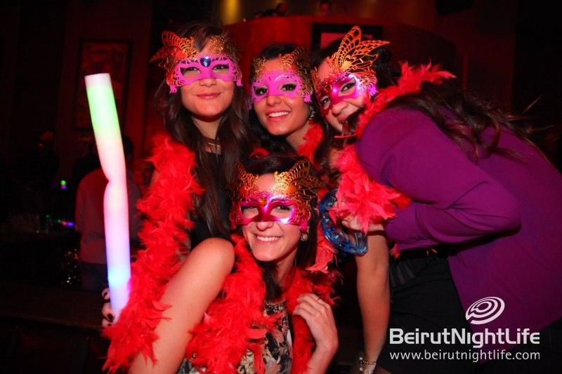 Greeting the New Year at the Party Palace: Palais