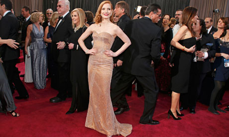 Best Actress Nominee Chastain