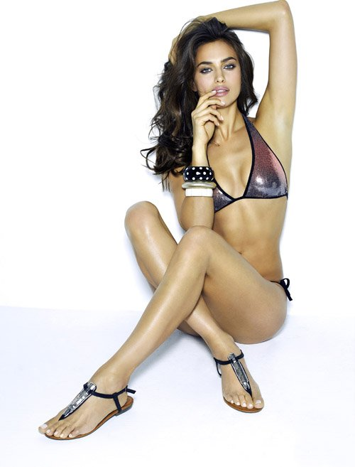 Irina Shayk's Sexy New XTI Bikini Campaign