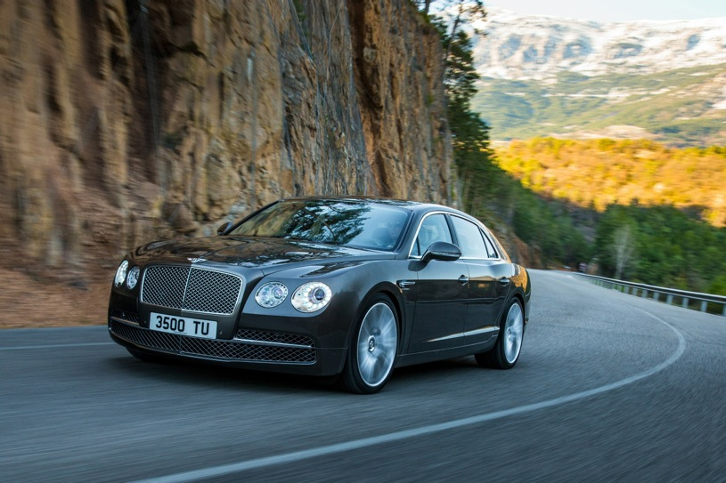 New Flying Spur Headlines Bentley's Geneva Presence
