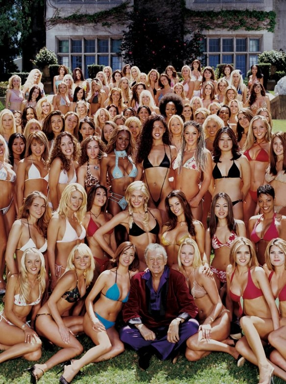 Hugh Hefner Has Slept with HOW MANY Women?!?