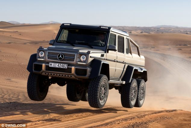 Mercedes launches G63 – their first six-wheeled model since the Nazi era