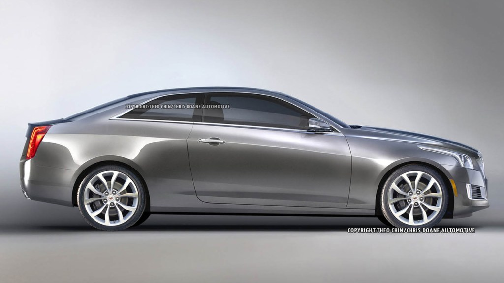 Imagine The New Cadillac CTS As A Coupe in 2014