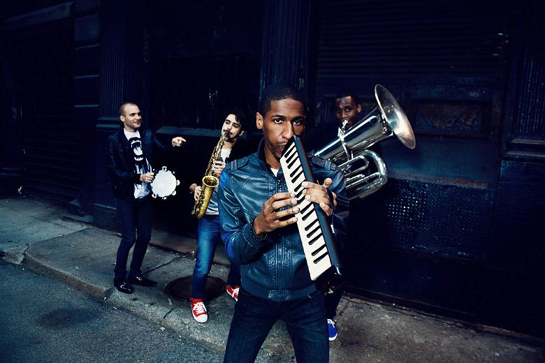 Jonathan Batiste & Monica Yunus with the Stay Human Band at Zouk Mikael Festival