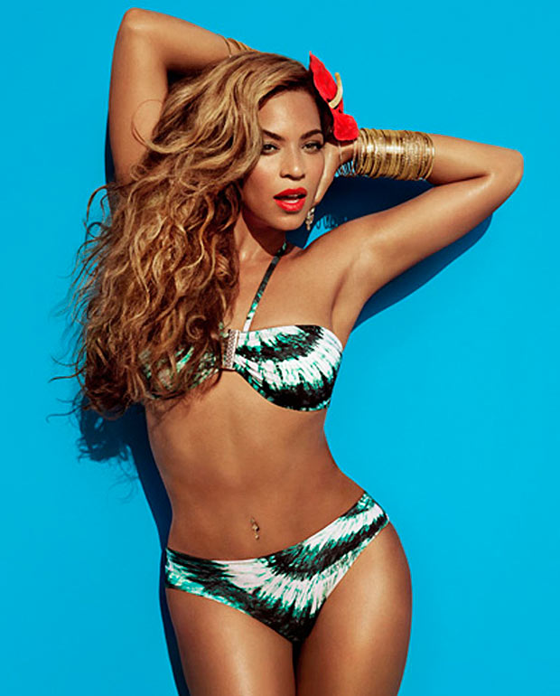 Beyonce fury as H&M trims curves on pics