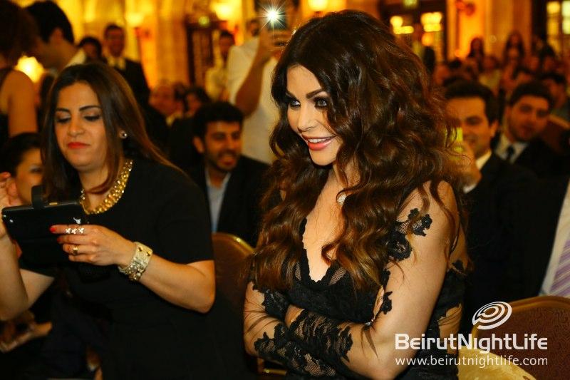Social Media Awards 2013 Grand Ceremony at Phoenicia Hotel