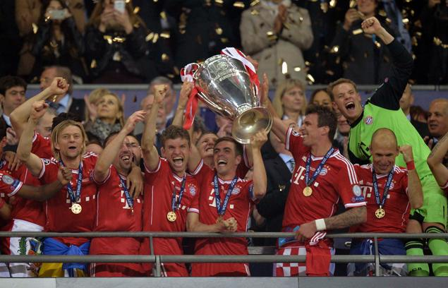 Bayern Munich clinch Champions League Title at Wembley