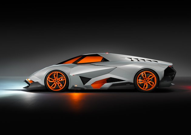 Lamborghini Egoista one-off crashes Lambo's 50th birthday
