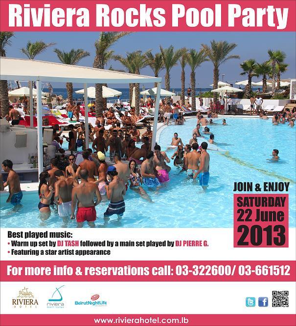 Riviera Rocks Pool Party
