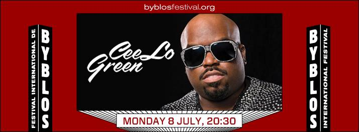 CeeLo Green at Byblos International Festival