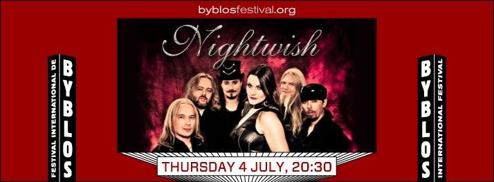 Nightwish at Byblos International Festival