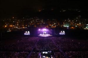 Michel Sardou Sings His Greatest Hits in Jounieh