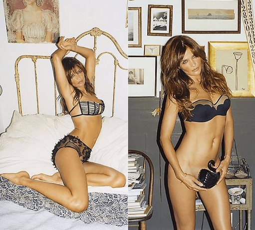 Helena Christensen bares all in new shoot