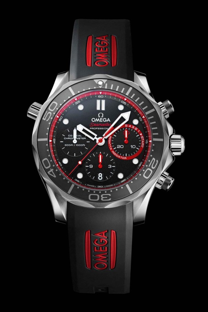 OMEGA Unveils New OMEGA Seamaster Diver ETNZ Limited Edition at Special Event with Skipper Dean Barker in San Francisco